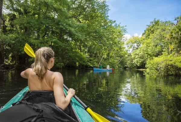 Central Florida Kayaking Tours Wekiva - Riverbend Landing